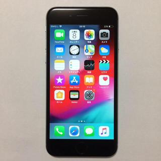 アイフォーン(iPhone)の4️⃣中古美品 AU iPhone6 16gb (スマートフォン本体)