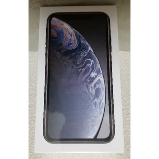 アイフォーン(iPhone)の新品未開封 iPhone Xr 64GB ブラック SIMフリー(スマートフォン本体)