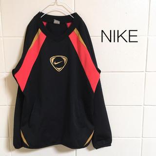 ナイキ(NIKE)のナイキ ビッグロゴ スウォッシュ メンズL トレーニングウェア ロンT(Tシャツ/カットソー(七分/長袖))