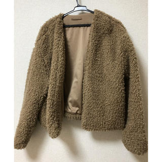 ジーユー(GU)のコート(毛皮/ファーコート)