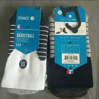 NIKE - 2足組 白黑 stance スタンス NBA バスケットボール ソックス 靴下