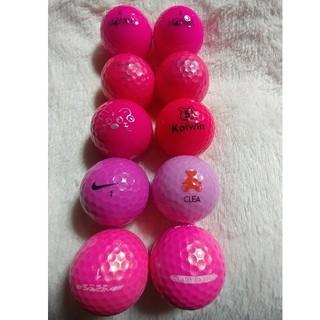 ゴルフロストピンクボール