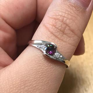 リング 指輪 CZ ダイヤ シルバー 20号 大きいサイズ(リング(指輪))