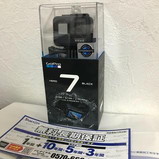 ゴープロ(GoPro)のGoPro Hero7 Black 新品未開封/保証充実(ビデオカメラ)