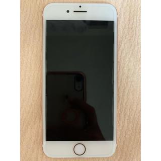 アップル(Apple)のiphone7 128GB simフリー 美品 ローズゴールド(スマートフォン本体)