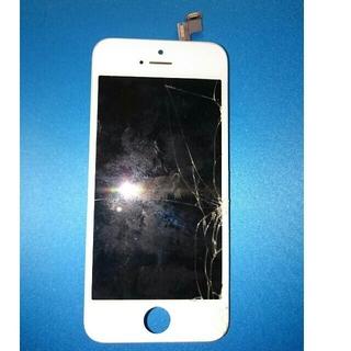 アップル(Apple)のiPhone5s 液晶パネル デジタイザー 中古(スマートフォン本体)