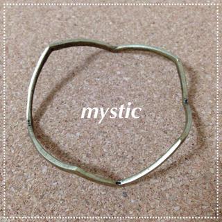 ミスティック(mystic)のハングル(ブレスレット/バングル)