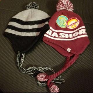 コムサイズム(COMME CA ISM)のニット帽 ビーニー 2個(ニット帽/ビーニー)