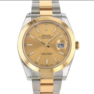 ROLEX デイトジャスト 41/126303 中古 メンズ(腕時計(アナログ))