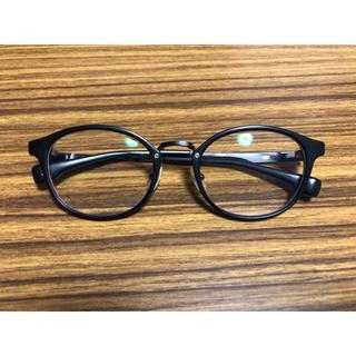 フォーナインズ(999.9)のフォーナインズ 999.9 メガネ M-36 マットブラック(サングラス/メガネ)