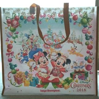 ディズニー(Disney)のタグ付 新品 ディズニークリスマス ショッパー ショッピングバッグ 35周年(ショップ袋)