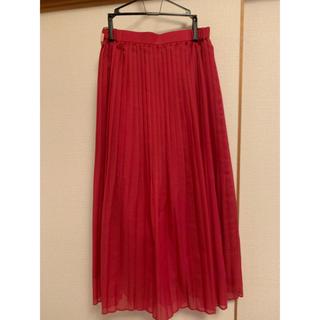 デイシー(deicy)のお値下げ♡DEICY ブライトスパンボイルプリーツスカート♡(ロングスカート)