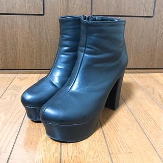ショートブーツ 22.0cm(ブーツ)