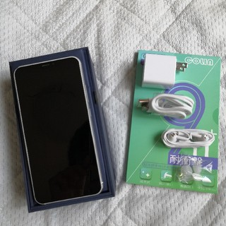 エイスース(ASUS)の(極美品)ムーンライトホワイトZENFONE5(ZE620KL)(スマートフォン本体)