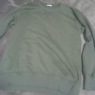 ジーユー(GU)のGU スウェットシャツ(長袖)  新作  (ニット/セーター)