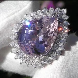 53連ピンクダイヤリング 3ct #プラチナ加工#(リング(指輪))