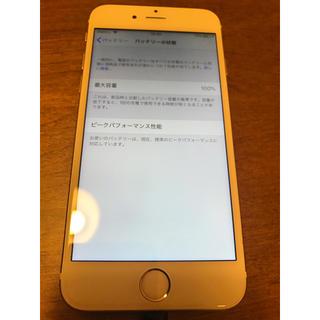 iphone6s 64GB simフリー(スマートフォン本体)