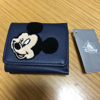 Disney - ミッキーサガラ刺繍ミニ財布♡