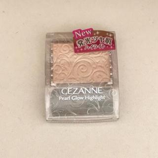 セザンヌケショウヒン(CEZANNE(セザンヌ化粧品))の新品未開封 セザンヌ ハイライト シャンパンベージュ(フェイスカラー)