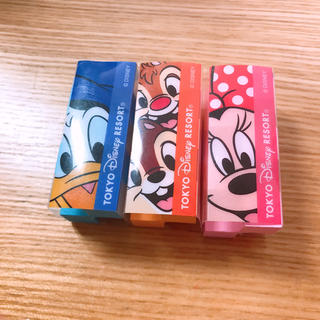 Disney - ディズニー カドケシ 消しゴム 3個セット