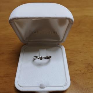 スタージュエリー(STAR JEWELRY)の【STAR Jewelry】ダイアモンドソリティアリング(リング(指輪))