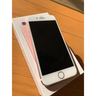 iPhone - 送料込 美品 SoftBank iPhone7 128GB ローズゴールド