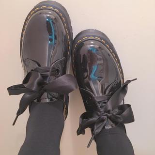 ドクターマーチン(Dr.Martens)のDr.Martens 厚底エナメル UK5(ローファー/革靴)