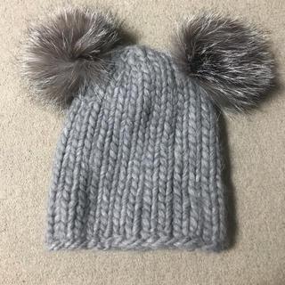 メゾンドリーファー(Maison de Reefur)のMAISONDEREEFURにて購入ユージニアキムのポンポンニット帽(ニット帽/ビーニー)