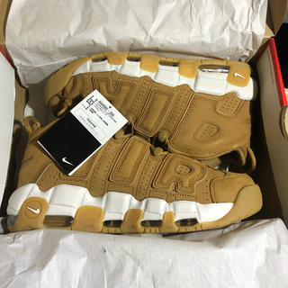 ナイキ(NIKE)の27.5cm NIKE AIR MORE UPTEMPO '96 FLAX(スニーカー)