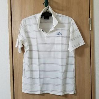 アディダス(adidas)のボーダー ポロシャツ 交渉可(ポロシャツ)