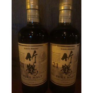 ニッカウイスキー(ニッカウヰスキー)の竹鶴(ウイスキー)