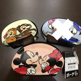 Disney - ディズニー ミッキー ミニー チップ デール ポーチセット