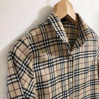 BURBERRY - 【美品】バーバリー レディース チェックシャツ14Y キッズ