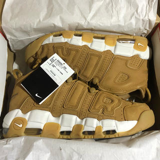 ナイキ(NIKE)の28cm NIKE AIR MORE UPTEMPO '96 FLAX(スニーカー)