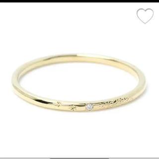 アーカー(AHKAH)のAHKHA アーカー  メテオールリング 10号 リング 指輪(リング(指輪))