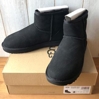 アグ(UGG)の★新品正規品★UGG アグ クラシックミニⅡ ムートンブーツ ブラック 25cm(ブーツ)