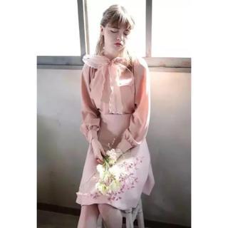 Lily Brown - リボンブラウス✨りりーブラウン、スナイデル、merry jenny、ミーア