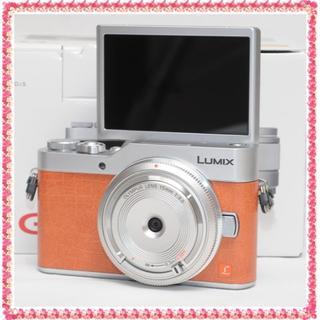 ✨未使用品✨人気のLUMIX GF9 レンズset✨自撮り&スマホ転送✨