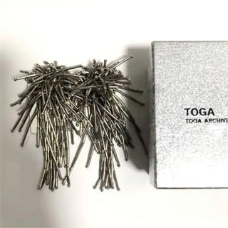 TOGA - TOGA PULLA ビーズ イヤリング シルバー
