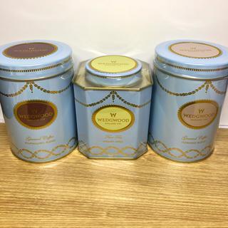 ウェッジウッド(WEDGWOOD)の☆新品未開封☆ウェッジウッドコーヒー 2缶 &紅茶セット(茶)