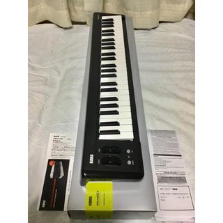 コルグ(KORG)の傷使用僅か! microkey2 49鍵 Korg 付属音源付! キーボード(MIDIコントローラー)