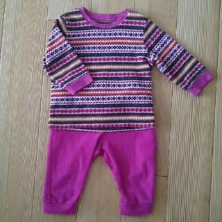 ユニクロ(UNIQLO)のユニクロ 女の子 パジャマ 80㎝(パジャマ)