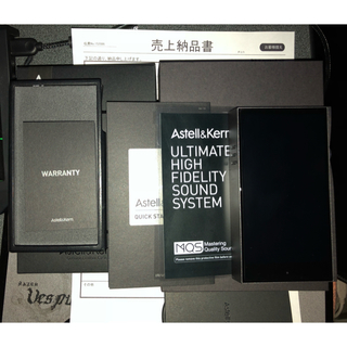 アイリバー(iriver)の【まにく様専用】Astell&Kern A&futura SE100 極美品(ポータブルプレーヤー)