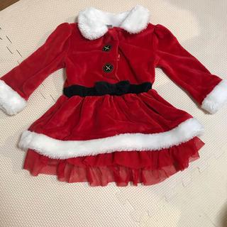 クリスマス サンタ ワンピース(ワンピース)