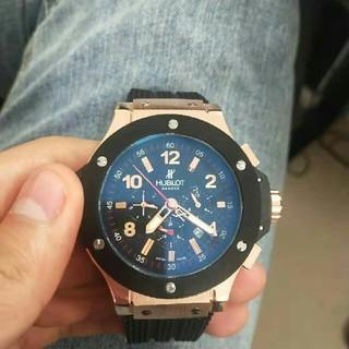 ウブロ(HUBLOT)のウプロ HUBLOT腕時計メンズピッグバン自動巻き (腕時計(アナログ))