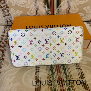ルイヴィトン(LOUIS VUITTON)のLOUIS  VUITTON マルチカラー ジッピーウォレット(財布)