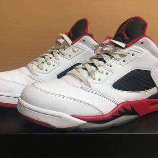 NIKE - Nike Air Jordan 5 Low fire red