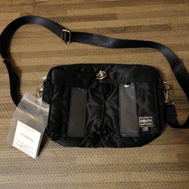 JAM HOME MADE & ready made(ジャムホームメイドアンドレディメイド)のPORTER/ポーターアイレット ミニ ショルダー メンズのバッグ(ショルダーバッグ)の商品写真