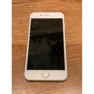 アイフォーン(iPhone)のiPhone6 Silver 64GB Softbank(スマートフォン本体)
