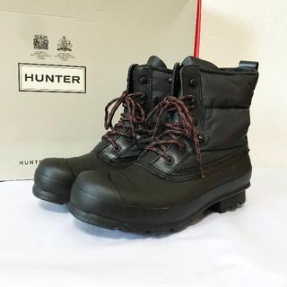 ハンター(HUNTER)の【未使用!】ハンター UK7 ダウンブーツ ショートブーツ ブラック(ブーツ)